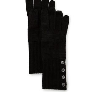 NWT! Michael Kors Ladies' Ribbed Gloves.
